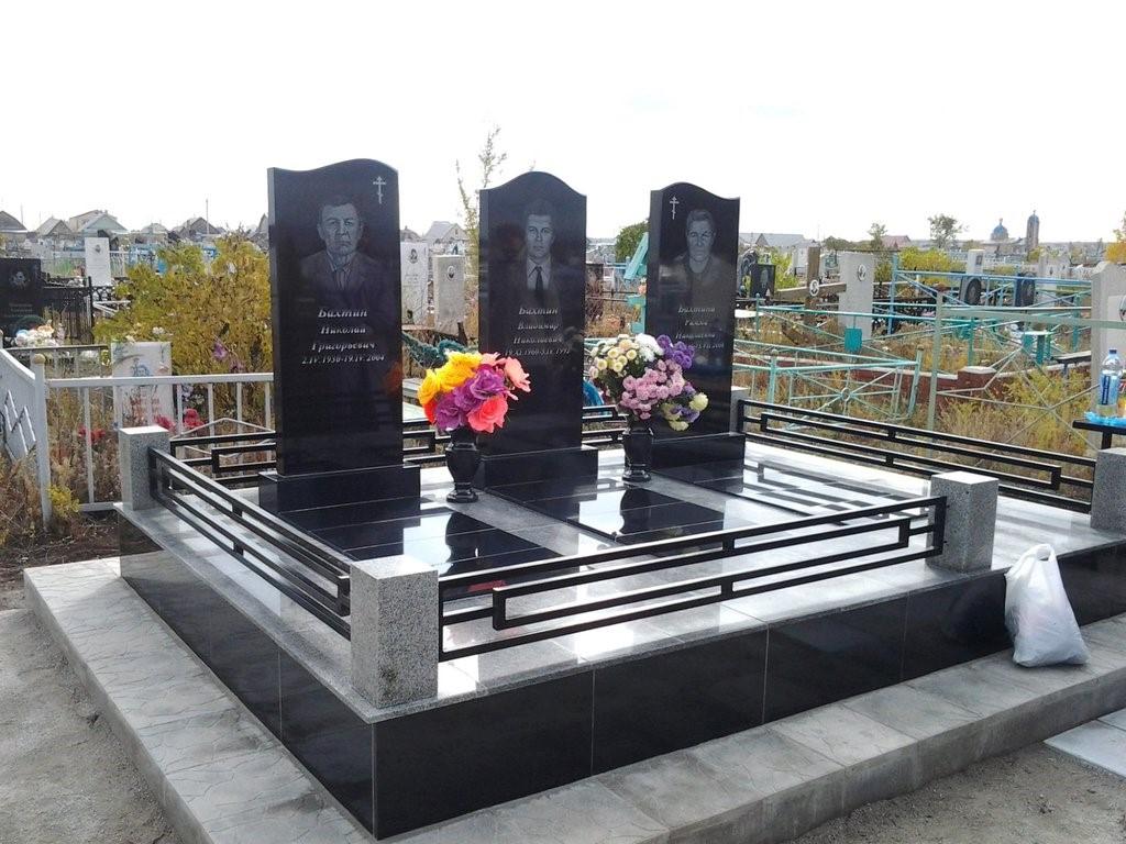Пример мемориального комплекса