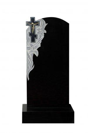 Вертикальный резной памятник №009