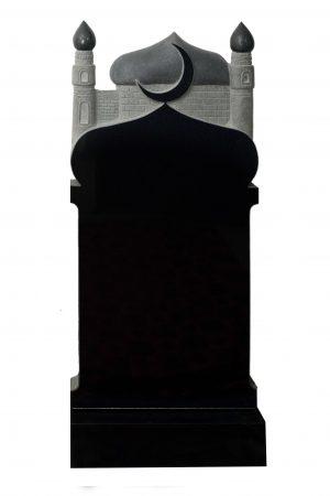 Вертикальный резной памятник №011 мечеть