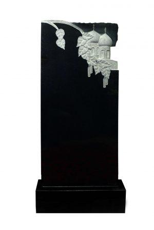 Вертикальный резной памятник №020