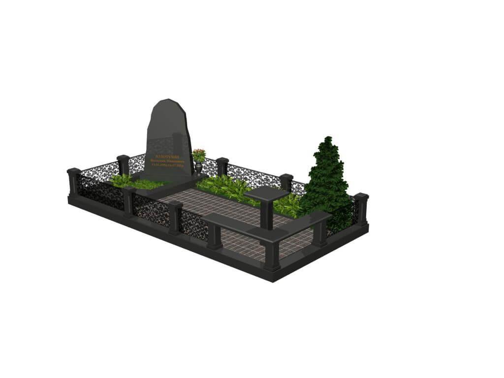 Эскиз мемориального комплекса №4