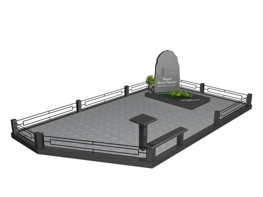 Эскиз мемориального комплекса №6