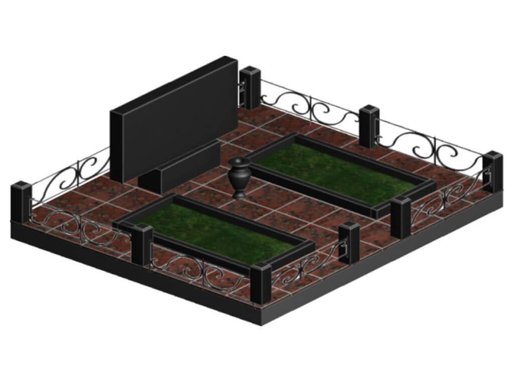 Эскиз мемориального комплекса №5