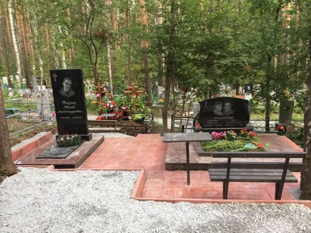 Пример мемориального комплекса №7