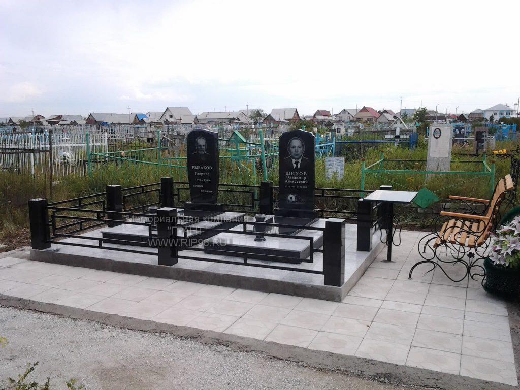 Пример работ 2020 года - мемориальный комплекс