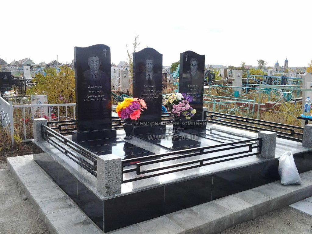 Пример работ 2020 года - исполнение мемориального комплекса